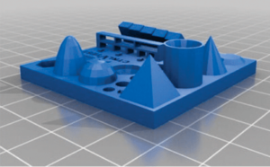 2. All In One 3D Printer Test